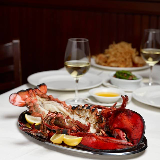 Jumbo Lobster Dinner At The Palm Has Been An American Tradition For Decades - The Palm Boston, Boston, MA