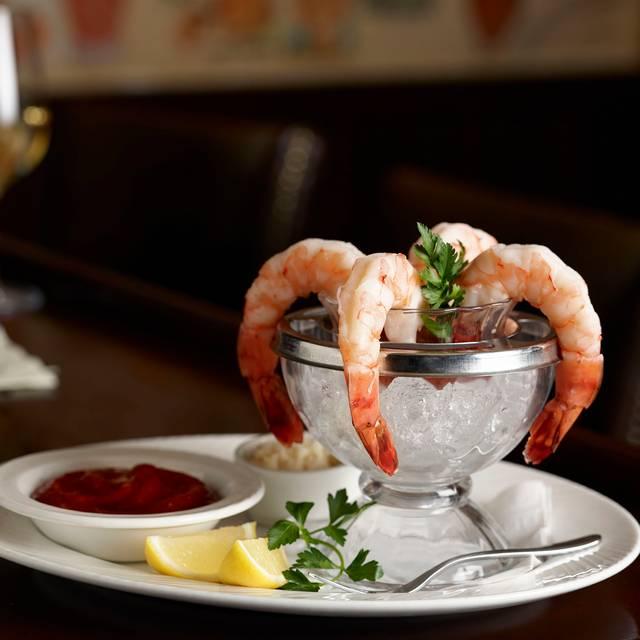 Jumbo Shrimp Cocktail With Atomic Horseradish - The Palm Houston, Houston, TX