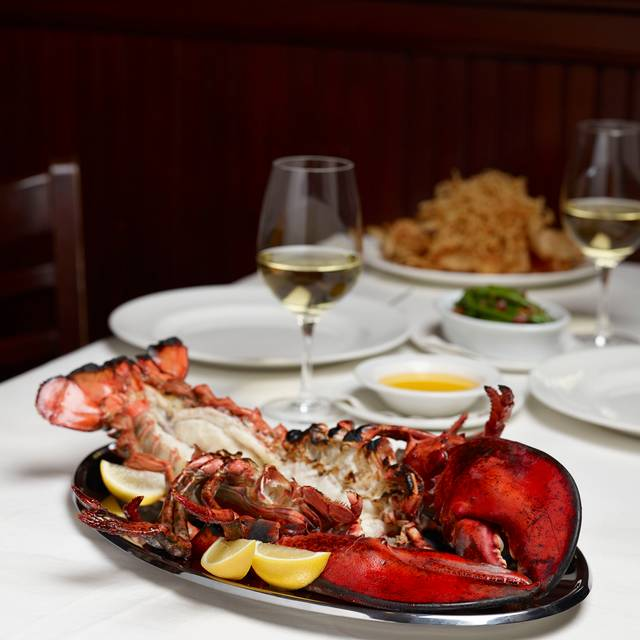 Jumbo Lobster Dinner At The Palm Has Been An American Tradition For Decades - The Palm Miami, Bay Harbor Islands, FL