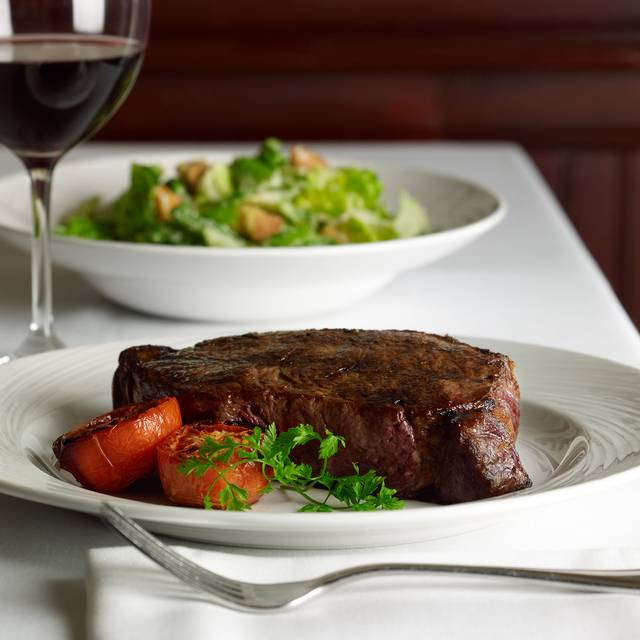 Prime New York Strip with Classic Caesar Salad - The Palm Miami, Bay Harbor Islands, FL