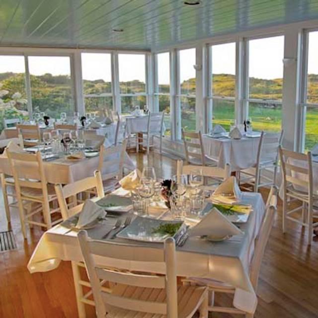 Outermost Inn Restaurant Menu