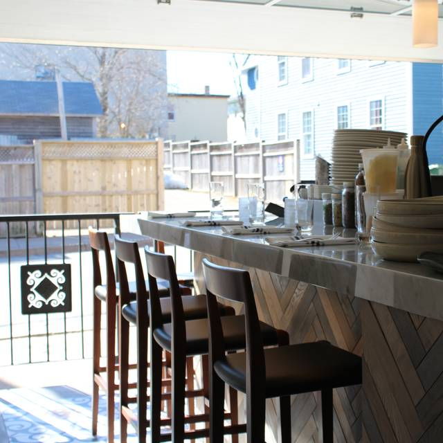 Hang out with our chef Lachlan at the chef's table - Eliot & Vine, Halifax, NS
