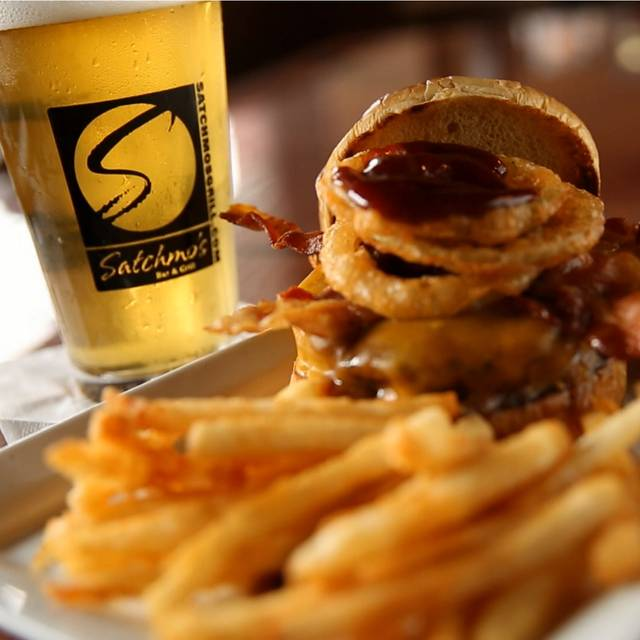 The Smokehouse Burger - Satchmo's Bar & Grill, Chesterfield, MO
