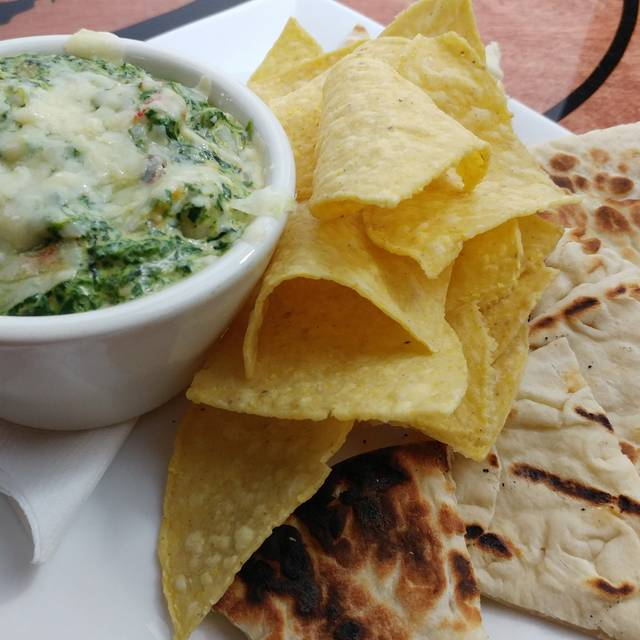 Seafood Spinach Dip - Satchmo's Bar & Grill, Chesterfield, MO