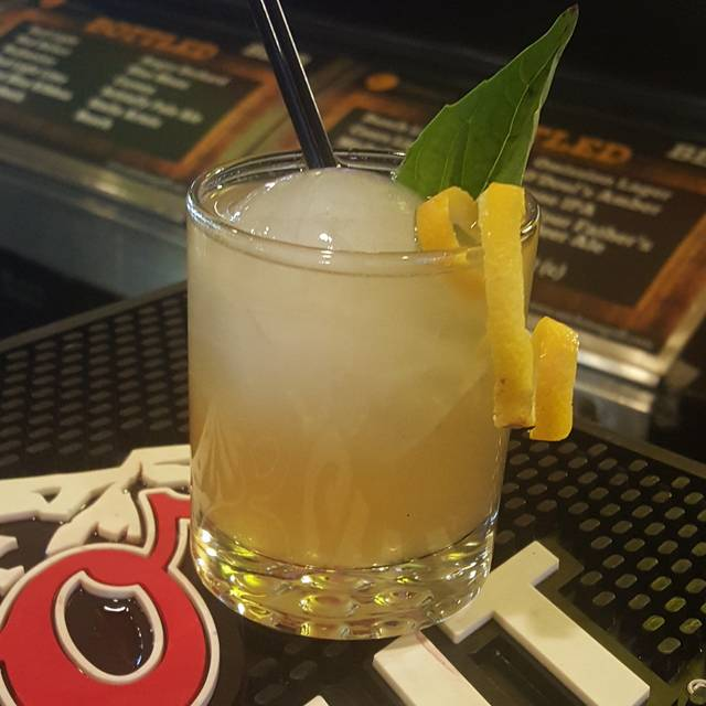 Citrus Basil Manhattan - Satchmo's Bar & Grill, Chesterfield, MO