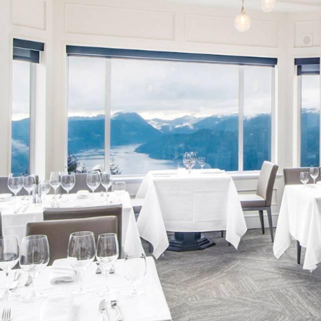 Summit Restaurant - Alpina Restaurant at Villa Eyrie Resort, Malahat, BC