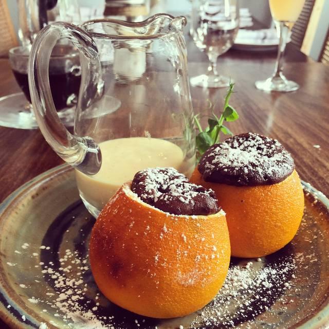 Orange Soufflé - Pinch Kitchen, Miami Upper Eastside, FL