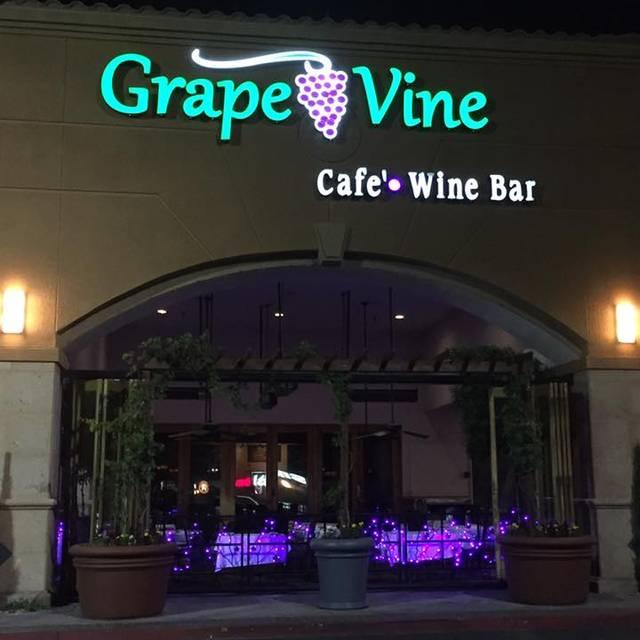 Grape Street Cafe Happy Hour Menu