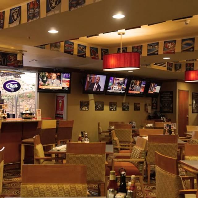 Diamonds Sports Bar Amp Grill Holiday Inn Oakland
