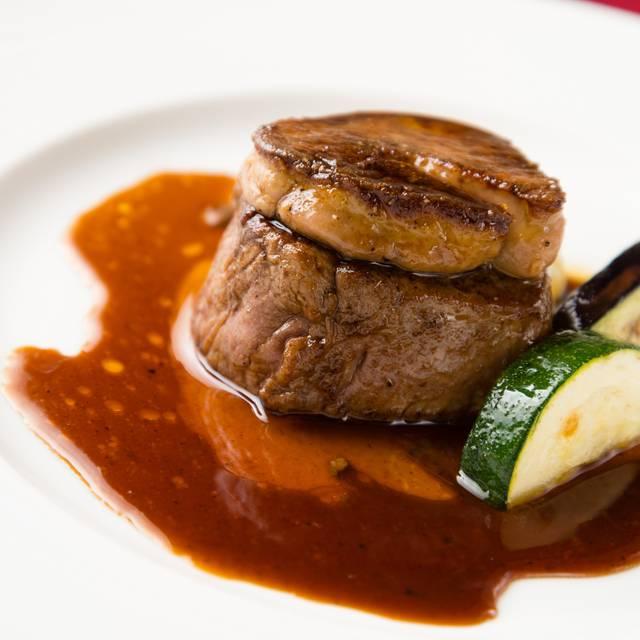 牛フィレ肉とフォアグラの重ね焼き 3600円 - コルポ デラ ストレーガ, 中央区, 東京都