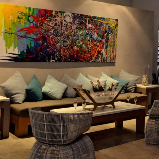 Painting-lounge-night - Oceano, San Juan, PR