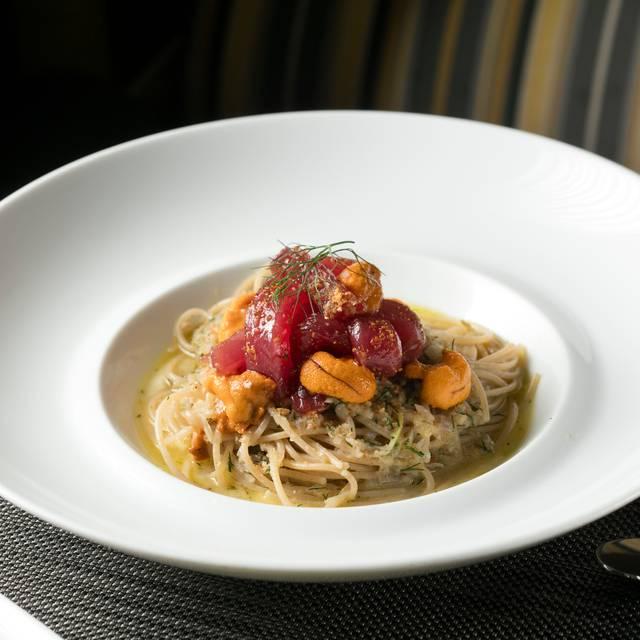 Bsud Timilia Spaghetti Tonnato Melissahom - Boulud Sud, New York, NY