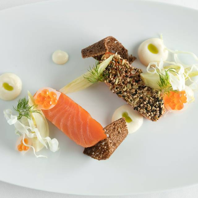 Smoked Ora King Salmon Melissahom - Café Boulud, New York, NY
