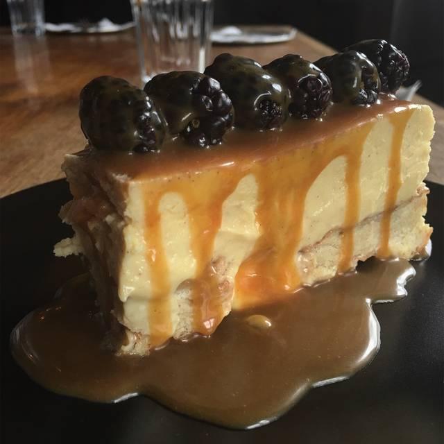 Cheesecake - Rock City Eatery, Detroit, MI