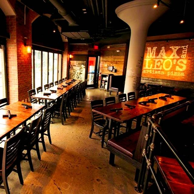 Max & Leo's at Game On Fenway, Boston, MA