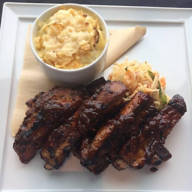 Niman Rib Entree - Vu Restaurant @ Hyatt Jersey City, Jersey City, NJ