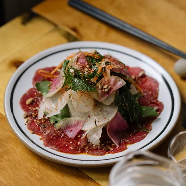 Beef Tataki Salad - Bessou, New York, NY