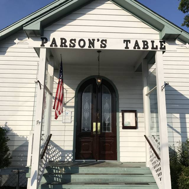 The Parson's Table, Little River, SC
