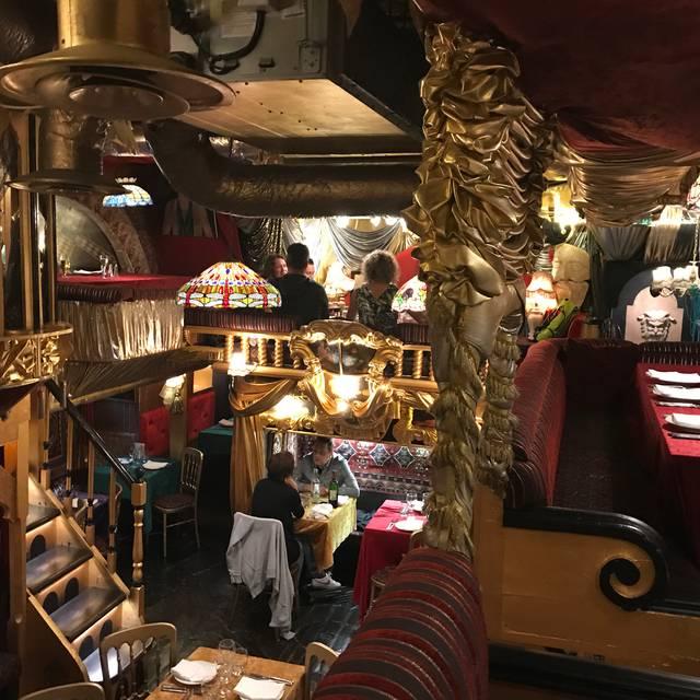 Sarastro Restaurant London Opentable