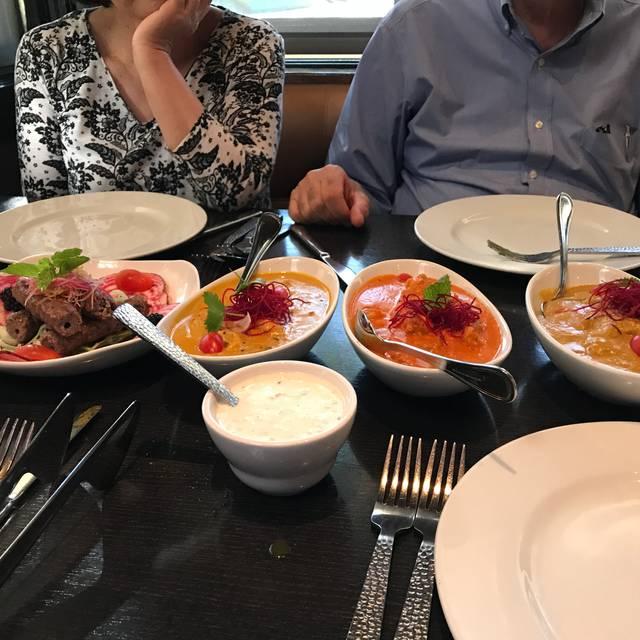 Saffron Indian Bistro, San Carlos, CA