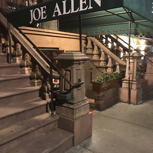 Joe Allen, New York, NY