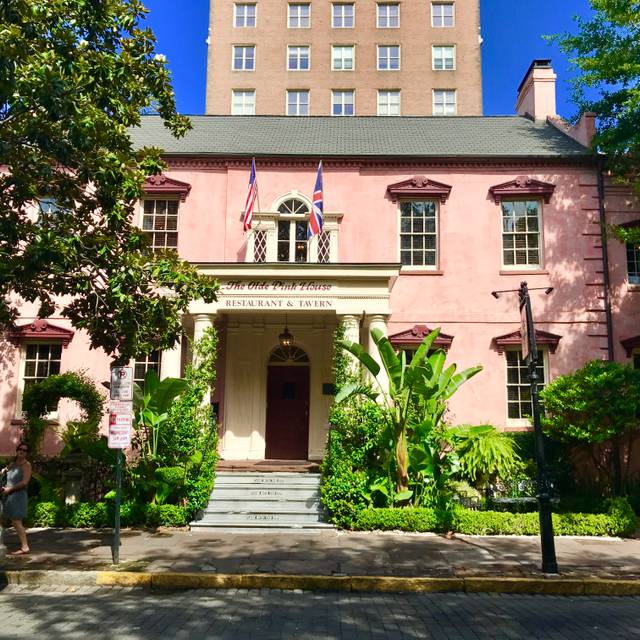 The Olde Pink House Restaurant, Savannah, GA