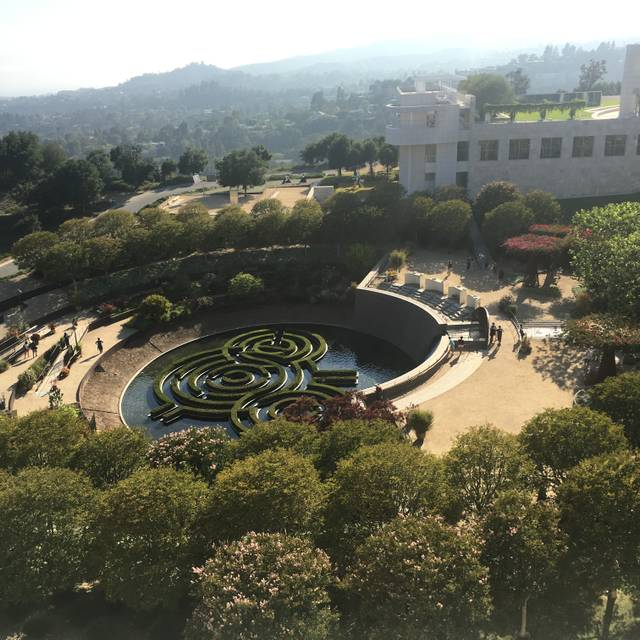 Restaurant at the Getty Center, Los Angeles, CA