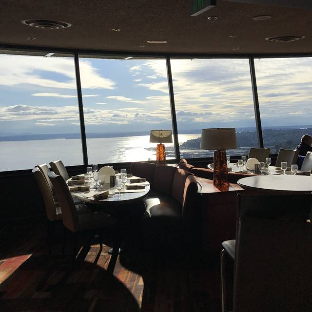SkyCity Restaurant at the Space Needle, Seattle, WA