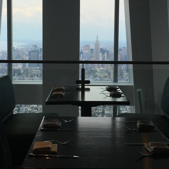 ONE Dine at One World Observatory, New York, NY