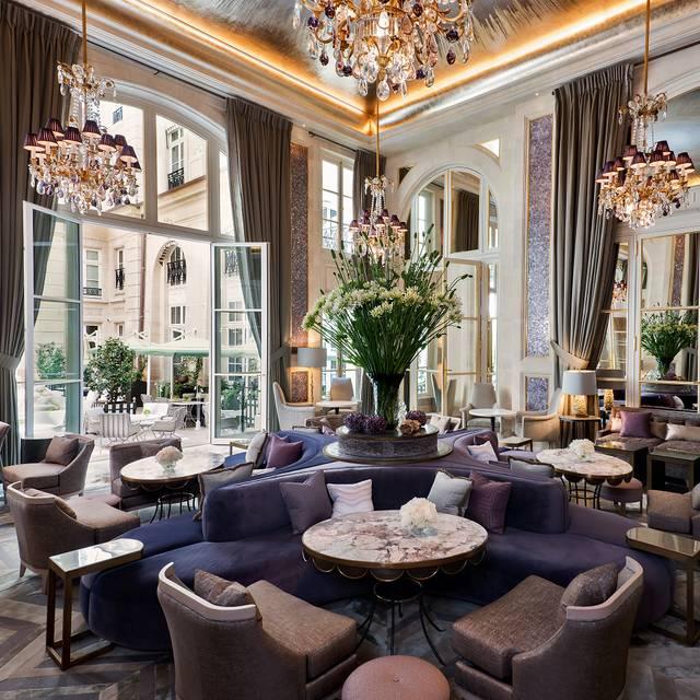 Jardin d hiver h tel de crillon restaurant paris for Restaurant paris jardin