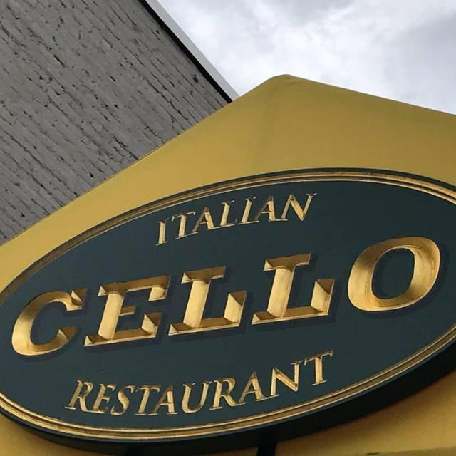 Exterior - Cello Italian Restaurant - Howell, Howell, MI