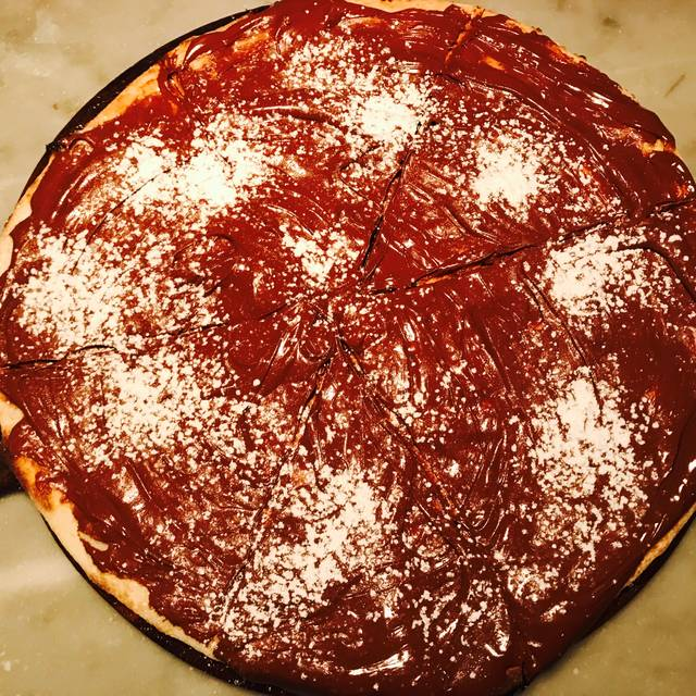 Nutella Pizza - Numero 28 Pizzeria Napoletana - East Village, New York, NY