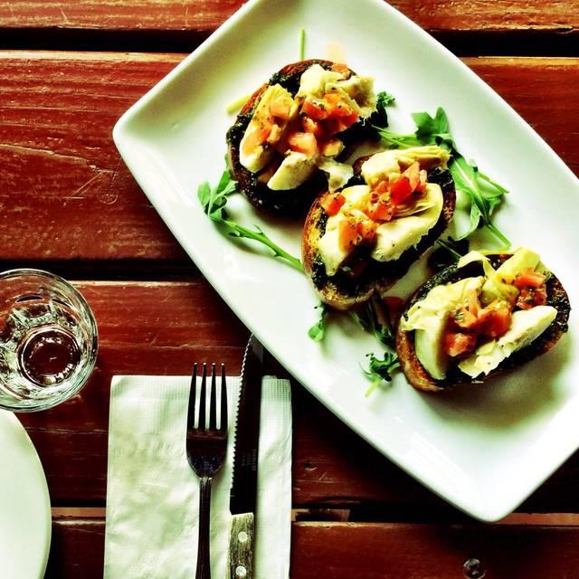 Bruschetta vegetariana - Numero 28 Pizzeria Napoletana - East Village, New York, NY