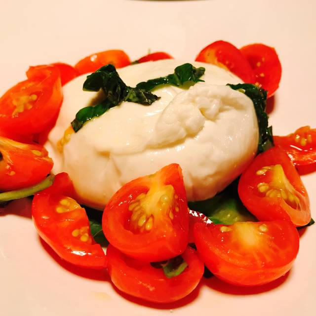 Burrata Cheese - Numero 28 Pizzeria Napoletana - East Village, New York, NY