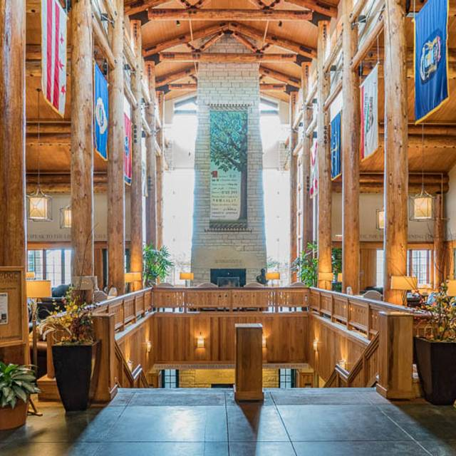 Timber Dining Room at Lied Lodge & Conference Center, Nebraska City, NE