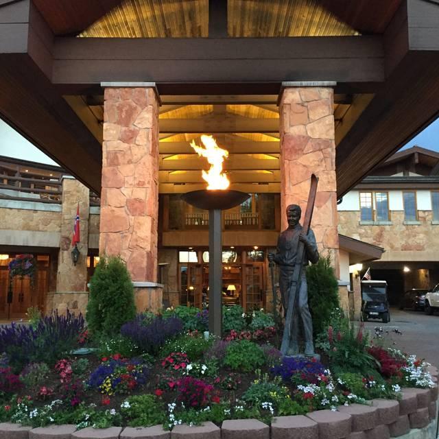 The Glitretind Restaurant at Stein Eriksen Lodge, Park City, UT