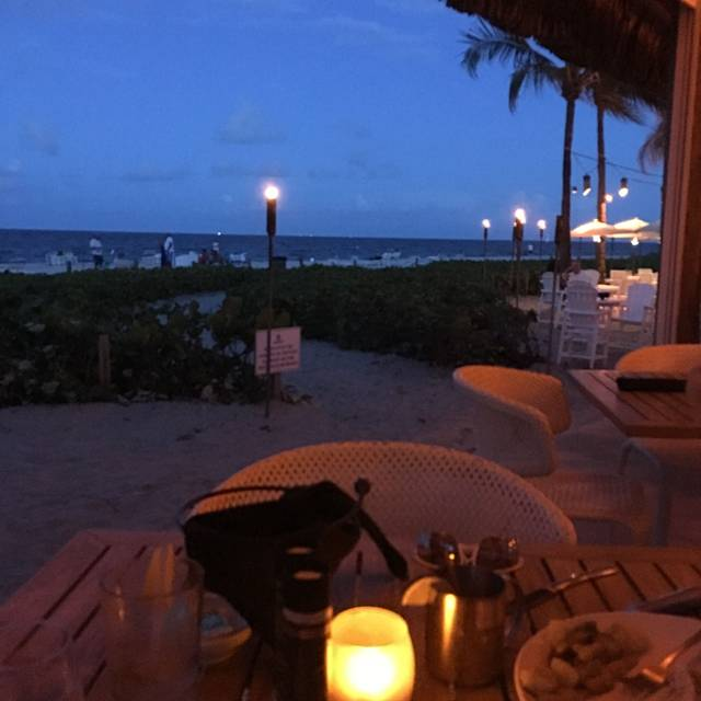 Ocean Grill Tiki Bar Beachcomber Resort Pompano Beach Fl