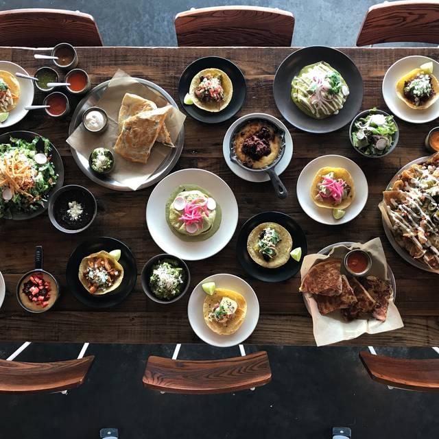 Table Setting - Bajo Sexto Taco Lounge, Nashville, TN