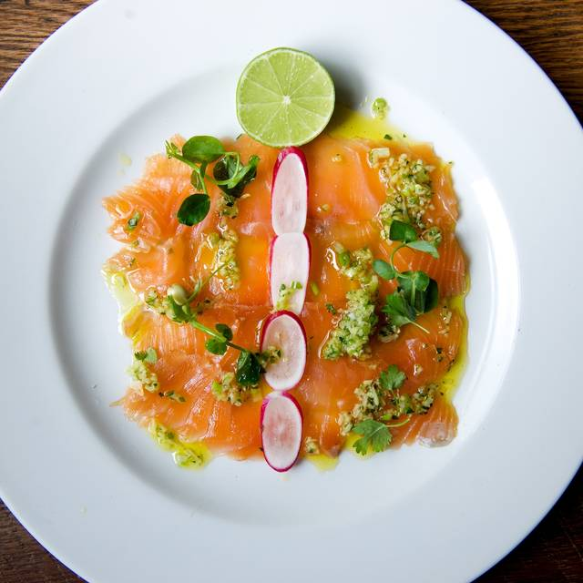 Salmon - The City Barge, London