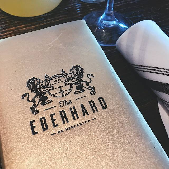 The Eberhard Restaurant - Dallas, TX | OpenTable