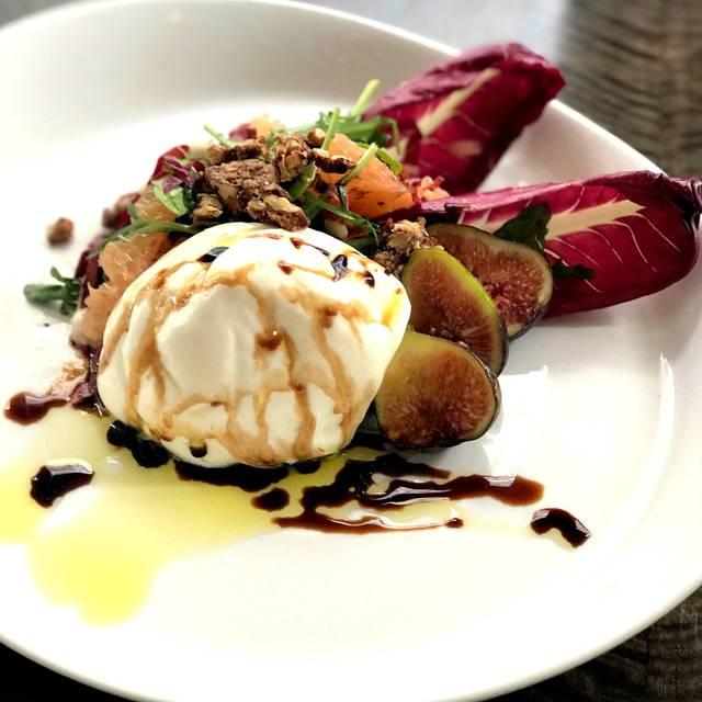 Burrata and Fig Salad - Gran Morsi, New York, NY
