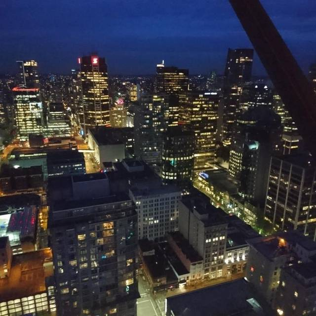 Top of Vancouver Revolving Restaurant, Vancouver, BC