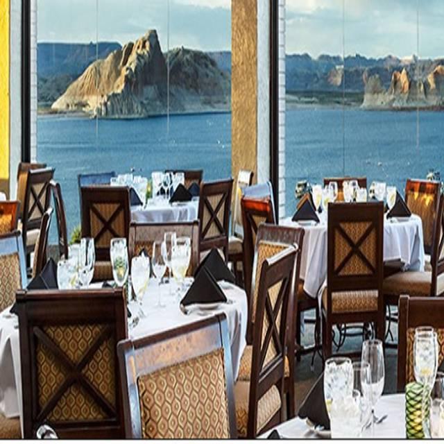 Rainbow Room At Lake Powell Resorts And Marinas Restaurant Page Az Opentable