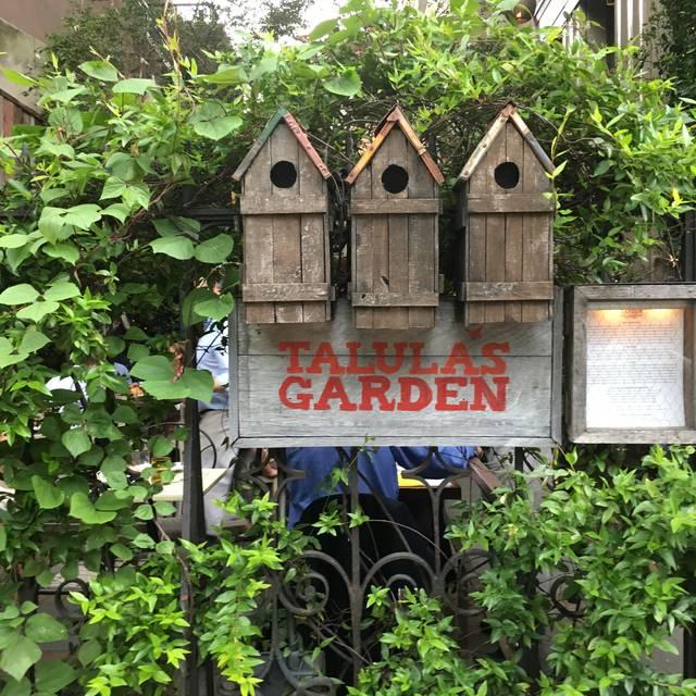 Talula's Garden, Philadelphia, PA