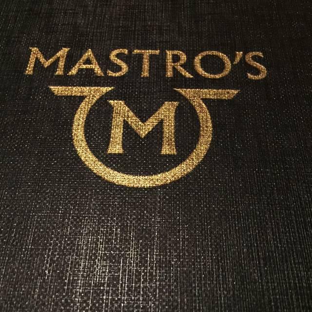 Mastro's Steakhouse - DC Restaurant - Washington, DC | OpenTable