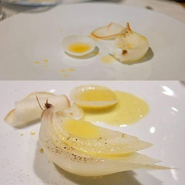 Onions And Pears - Hedone, London