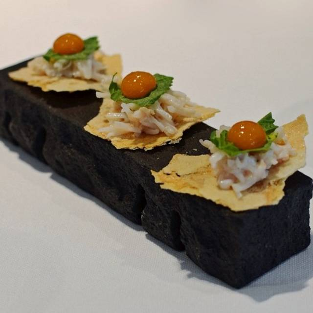 Crab & Apricot - Hedone, London