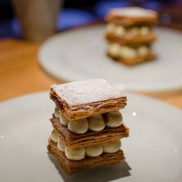 Cox Apple Millefeuille - Caramel Ice Cream - Hedone, London