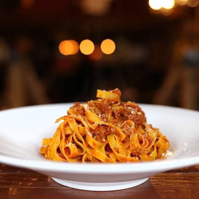 Tagliatelle al ragù - Numero 28 Pizzeria Napoletana - East Village, New York, NY