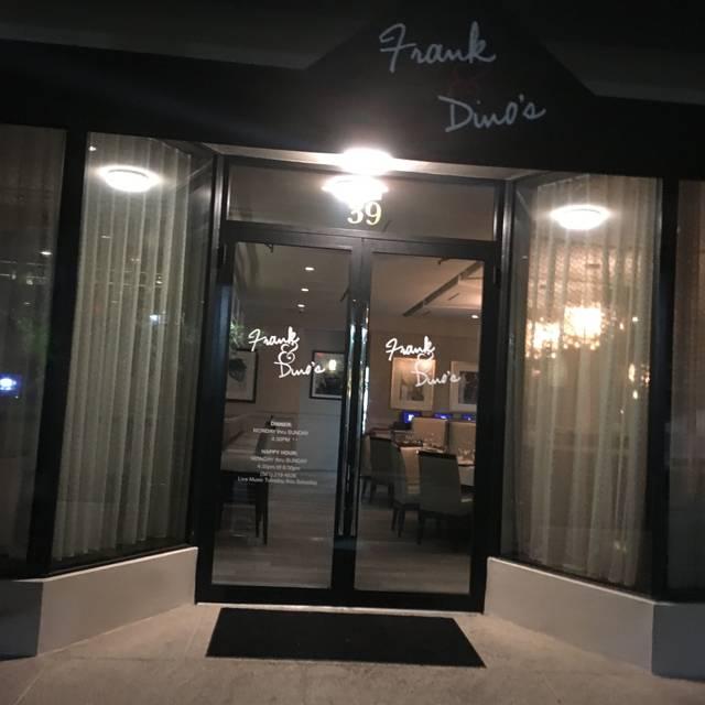 Frank and Dino's, Boca Raton, FL